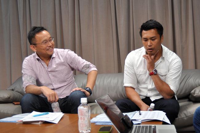 村上氏(左)、大西氏
