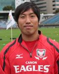 和田 拓選手(キヤノンイーグルス)