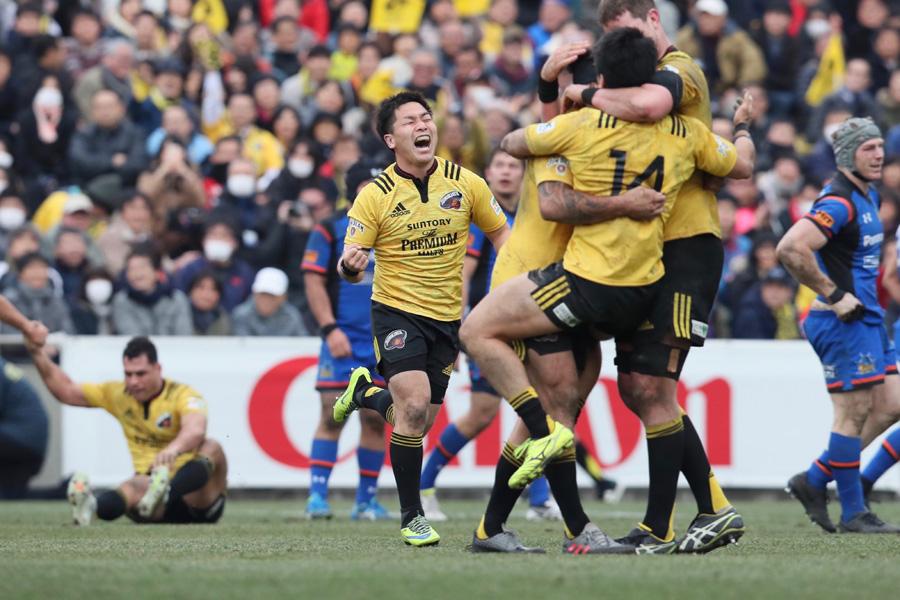 ▲昨季はサントリーがトップリーグと日本選手権の2冠達成。今季はどんなドラマが待ち受けているのか photo by Kenji Demura