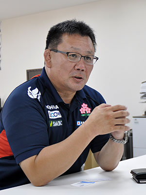 薫田強化委員長