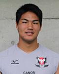 永富 健太郎選手(キヤノンイーグルス)