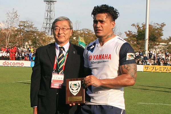 マン・オブ・ザ・マッチはヤマハ発動機ジュビロのマレ・サウ選手