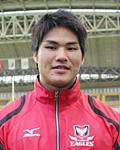 永富健太郎選手(キヤノンイーグルス)
