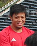 落合知之選手(神戸製鋼コベルコスティーラーズ)