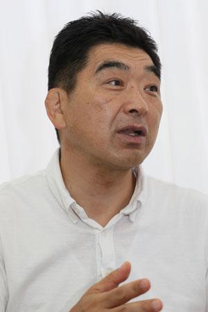 太田治トップリーグ部長 photo by Kenji Demura