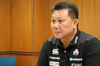 「日本代表に選ばれるため、トップリーグで質の高いプレーを見せてくれるはず」 photo by Kenji Demura