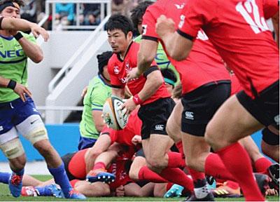 しっかりとゲームコントロールした日本代表 田中史朗